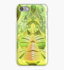 Neon Green Ocean Liner  iPhone Case/Skin