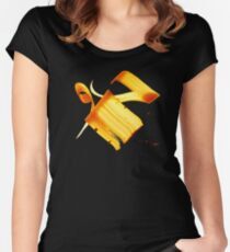 """""""Air"""", """"Atmosphere"""" in Arabic Women's Fitted Scoop T-Shirt"""