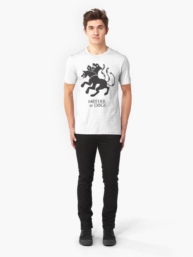 Alternative Ansicht von Mutter der Hunde | Game of Thrones Slim Fit T-Shirt