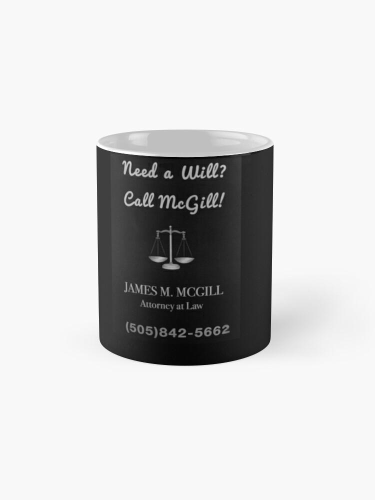 Alternative Ansicht von Brauchen Sie einen Willen? Ruf McGill an! Tassen
