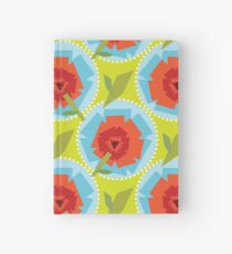 Poppies (Green) Hardcover Journal