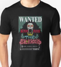 <ONE PIECE> Brook Wanted T-Shirt