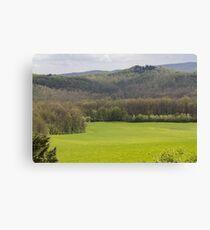 hilly landscape Canvas Print