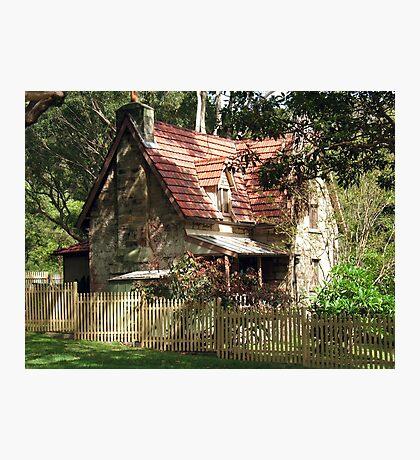 The Olde Gardener's Cottage Photographic Print