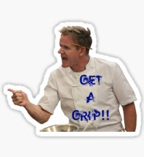 Chef Gordon Ramsay Has a Tight Hold Sticker