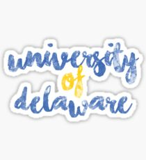 University of Delaware 2 Sticker
