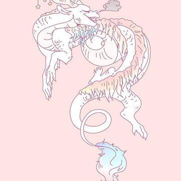 Noodly Dragon by ATinyShadow