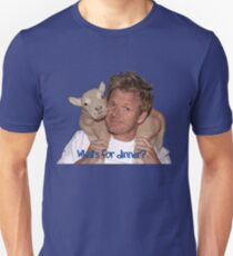 Whats for Dinner Chef Gordon Ramsay T-Shirt