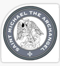 ST MICHAEL MEDALLION Sticker