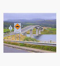 Harry Blaney Bridge...................................Ireland Photographic Print
