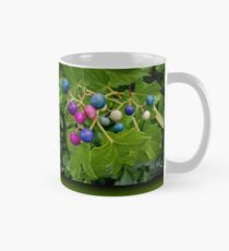 Colorful Berries in Green Foliage Mug