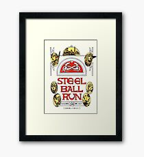 Steel Ball Run Framed Print