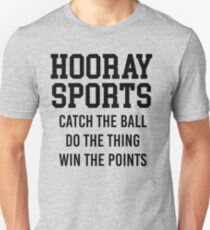 Hooray Sports Unisex T-Shirt
