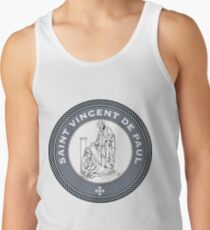 ST VINCENT DE PAUL MEDALLION Men's Tank Top