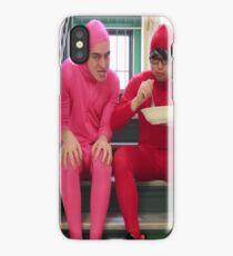 siracha shrimp boi iPhone Case