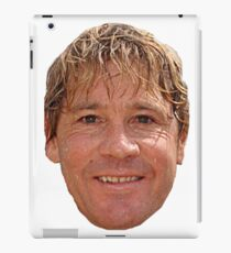 Steve Irwin head iPad Case/Skin