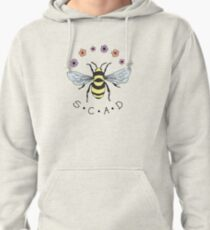Art the Bee from Savannah College of Art and Design Pullover Hoodie