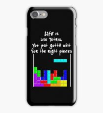 LIFE is like Tetris iPhone Case/Skin