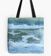 Sudden Surge, Melbourne Beach, Florida Tote Bag