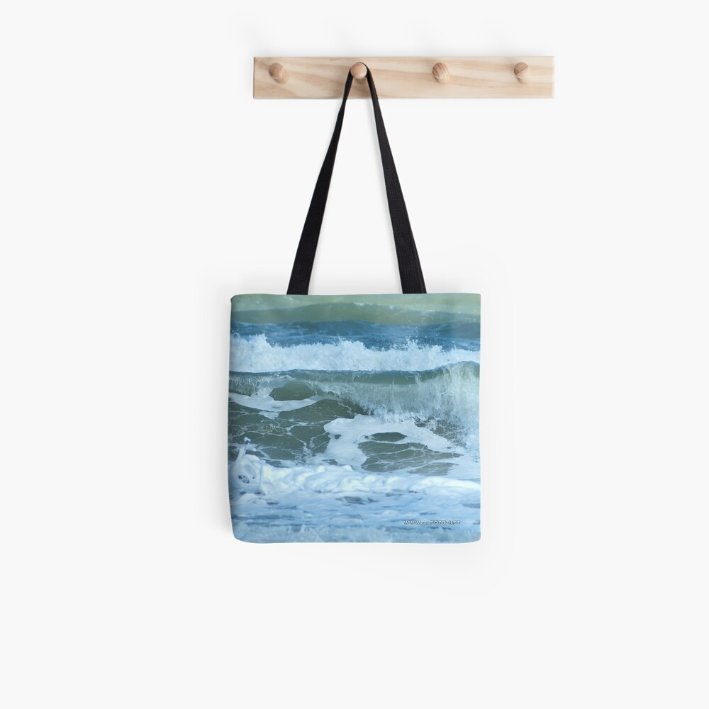 Sudden Surge, Melbourne Beach, Florida Tote Bag