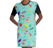 My favourite food Graphic T-Shirt Dress
