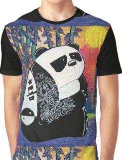 Panda Zen Master Graphic T-Shirt