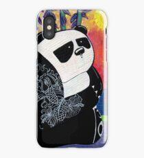 Panda Zen Master iPhone Case