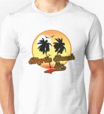 MYRTLE BEACH SOUTH CAROLINA BEACH PALM TREE OCEAN SCENE T-Shirt