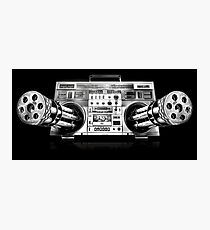 Ghetto Blaster Photographic Print