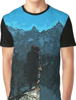 Beauty of Skyrim Graphic T-Shirt