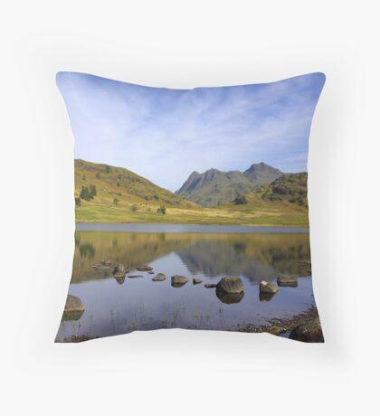 Peaceful Waters - Blea Tarn Throw Pillow