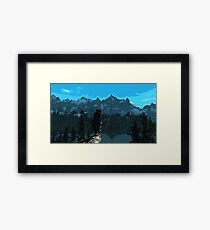 Beauty of Skyrim Framed Print