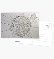 Fragile sphere Postcards
