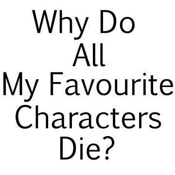 Favorite characters English by Iori