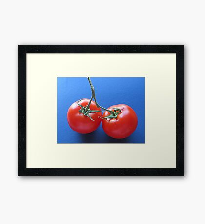 Showy! Framed Print