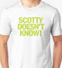 Eurotrip - Scotty weiß es nicht! Slim Fit T-Shirt