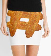 Hash(brown)tag Mini Skirt