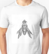 Orchid Cuckoo Bee Illustration Unisex T-Shirt