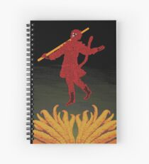sun wukong the monkey king at the edge of creation Spiral Notebook