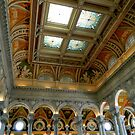 Great Hall Ceiling - Library of Congress      ^ by ctheworld