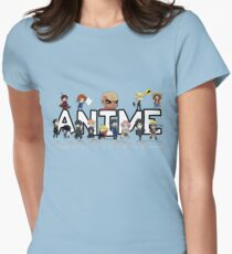 ANIME! Womens Fitted T-Shirt