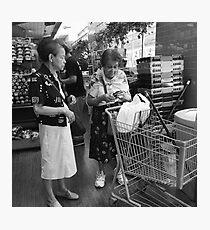 Shopping Companion Photographic Print
