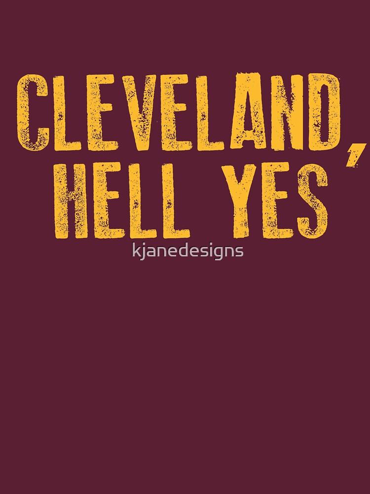Cleveland, Hölle Ja von kjanedesigns