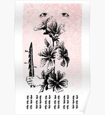 ace of swords, virtue, a honey-bee spell Poster