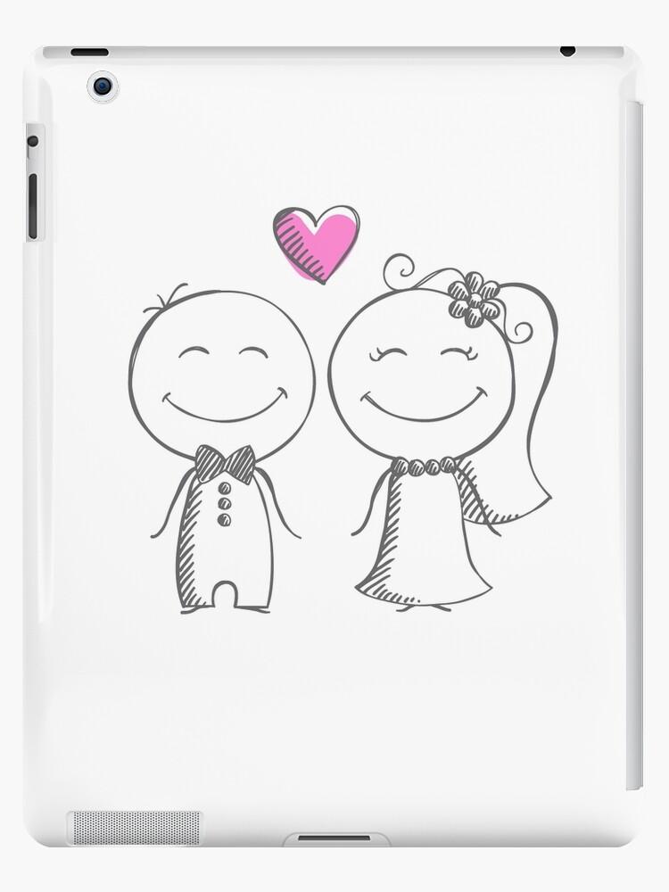 f18f380126 Vinilos y fundas para iPad «novia y novio