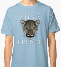 Steve French Tiger Stache  Classic T-Shirt