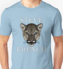 Steve French Tiger Stache  Unisex T-Shirt
