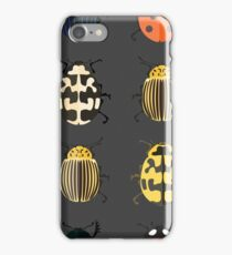 Cute bugs. iPhone Case/Skin