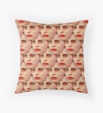 Alyssa Edwards Beauty Mask Pattern Throw Pillow