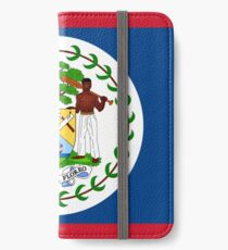 Belize Flag iPhone Wallet/Case/Skin